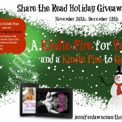 Share the Read Holiday Kindle Fire #Giveaway