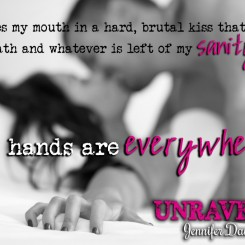 Release Day Giveaway UNRAVELED, Undone #2.5