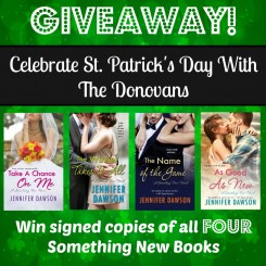 St. Patty's Day Something New #Giveaway
